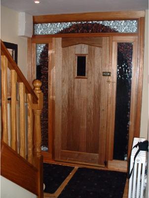 Cottage 1 Lite Hall Door & Gallery - Door Choice - Doors Floors Stairs Mahogany Doors Oak ...